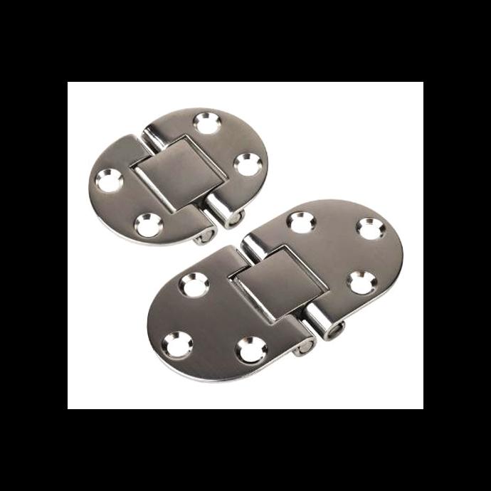 Round Side 2-Pin Hinge