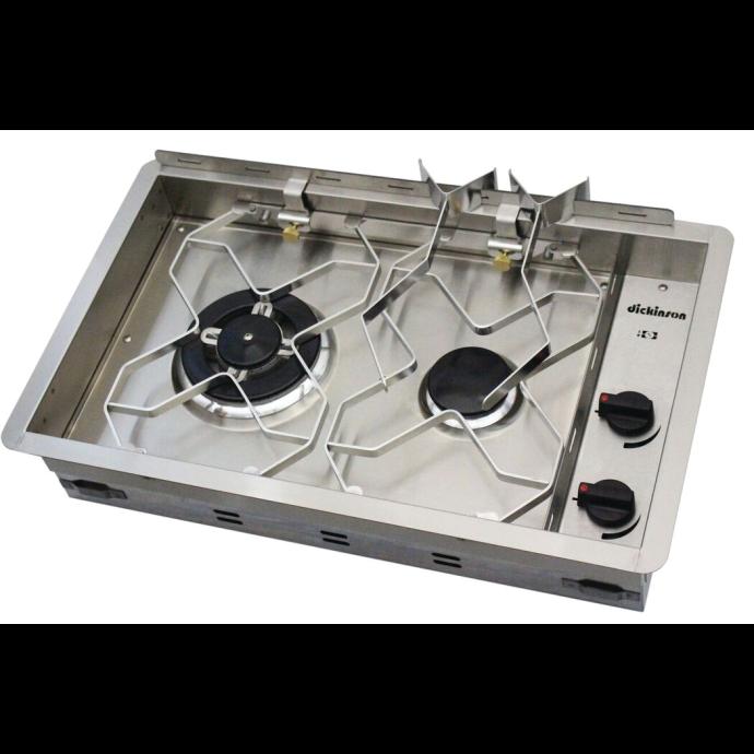 Propane Drop-In 2-Burner Cooker