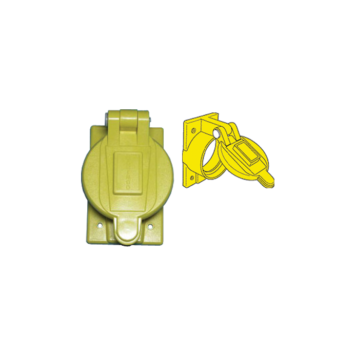 Weatherproof Cover for 50A 125V & 50A 125/250V Receptacles