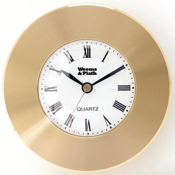 Chart Weights; Brass Compass or Clock