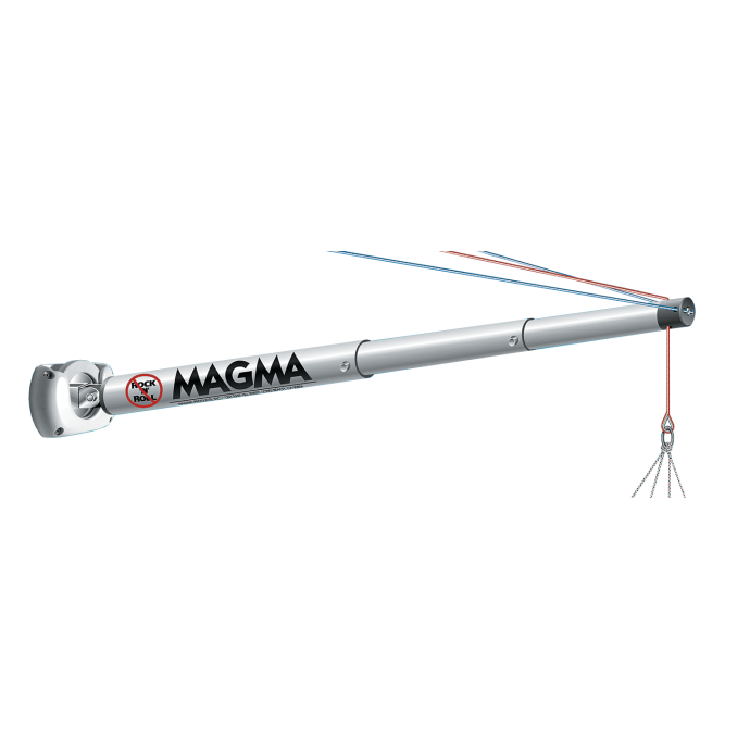"The ""Rock'n'Roll"" 3 Part Telescoping Outrigger Pole"