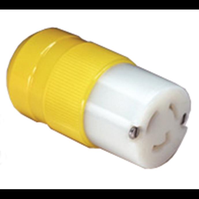 Marine 15 Amp 125V Twist-Lock Plug & Connector