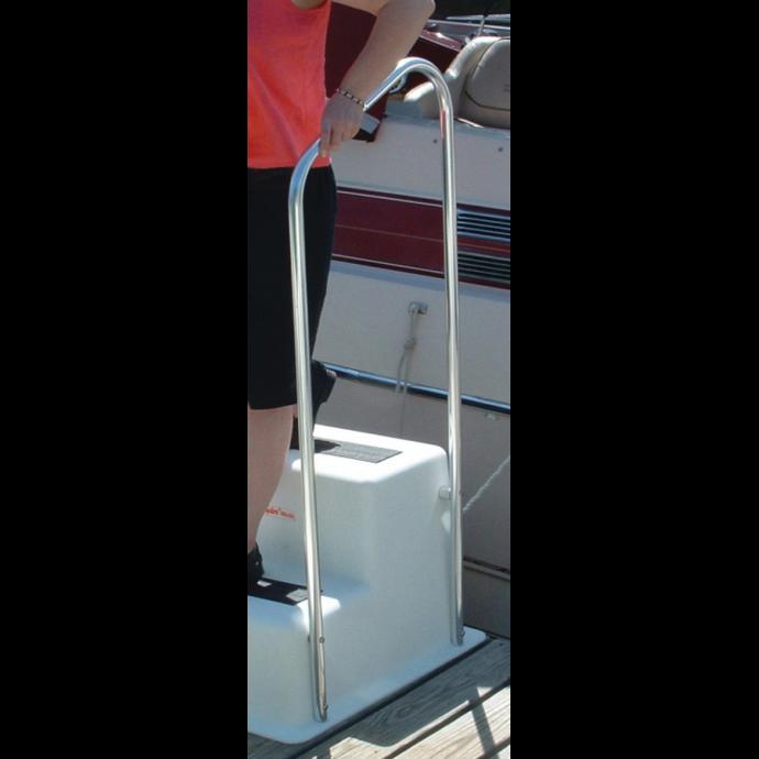 StepSafe™ Dock Step and Optional Hand Rail