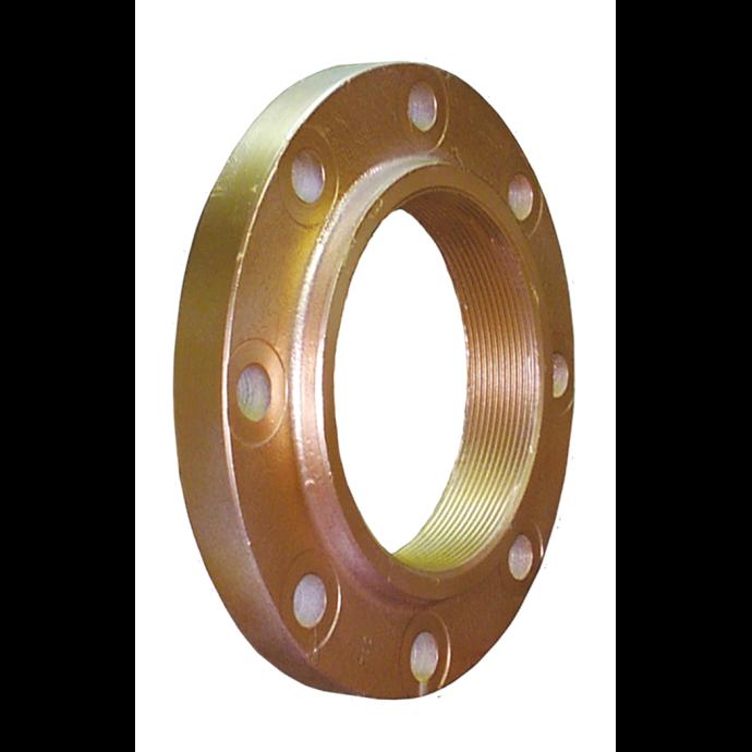 F-Series Bronze Flange Adapters - Internal NPT Threads 1