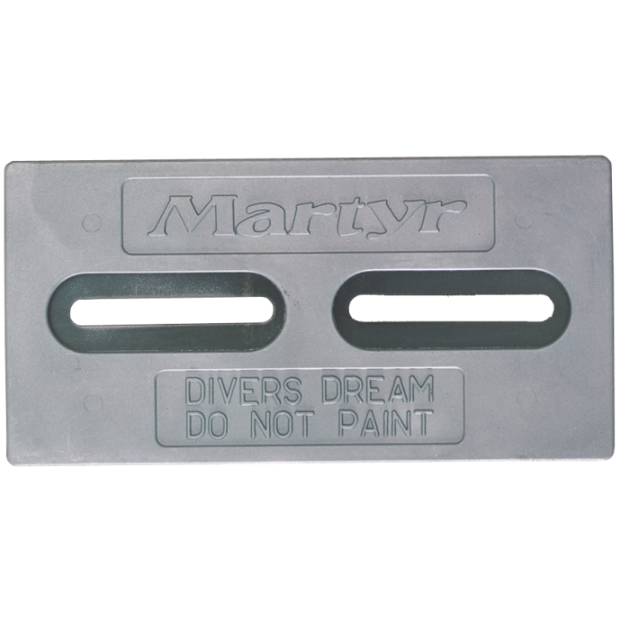 Diver's Dream Slotted Plate Anodes - Zinc