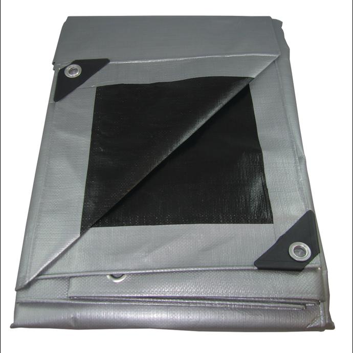 Silver UV-Resistant Poly Tarps