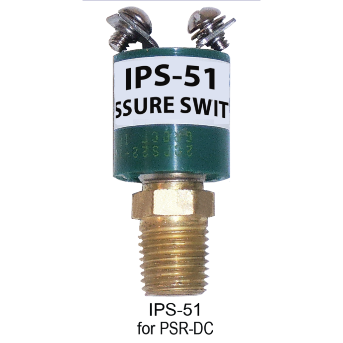 PRESSURE SWITCH IGNITION PROTECTED