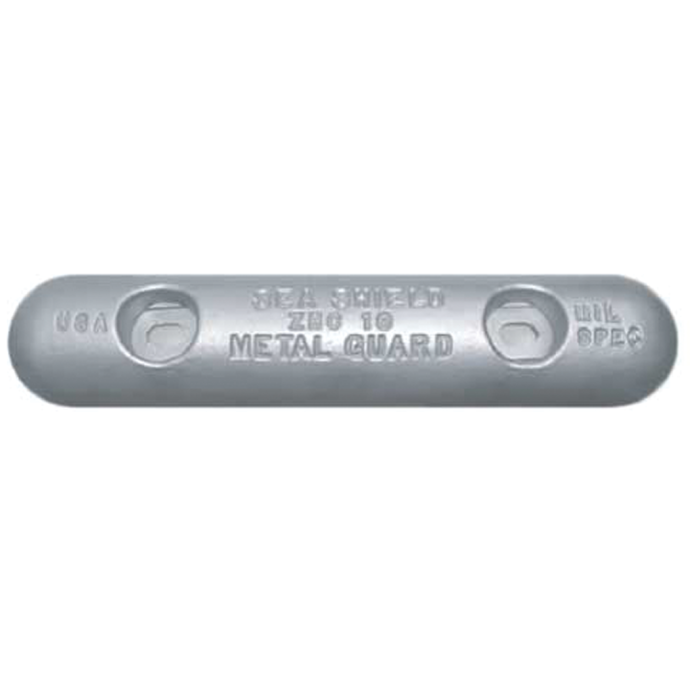 Oblong Slotted Plate Anodes - Zinc