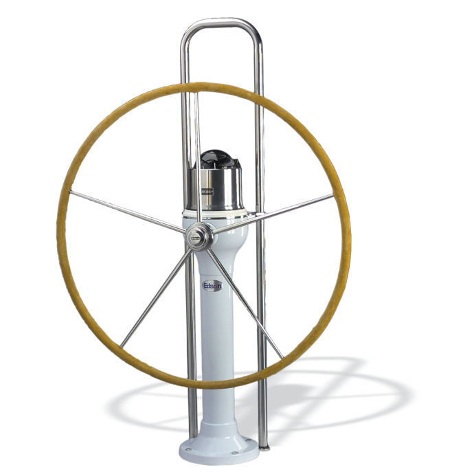 Chain & Wire Classic 402 Series Steering Pedestal - Boats Over 29 ft 1