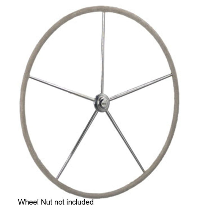 Leather Wrapped Stainless Stell Dished Destroyer™ Wheel