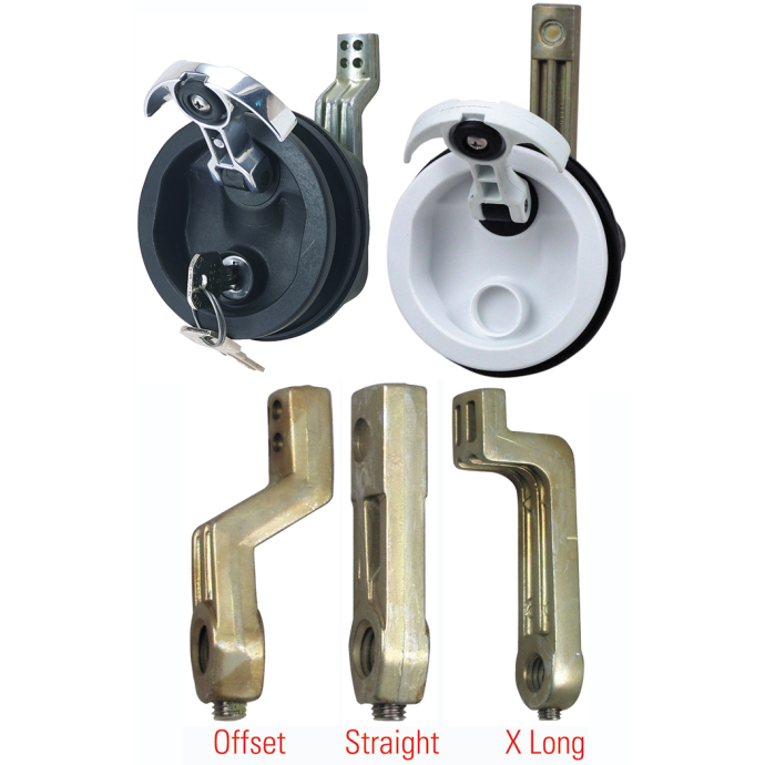 T-Handle Flush Lock & Latch 1