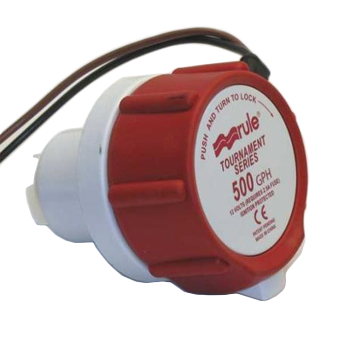 12V 1100GPH TOURNAMENT REPLACEMENT MOTOR