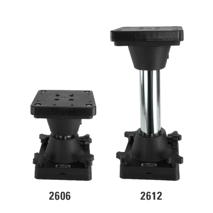 Downrigger Pedestal Risers 1