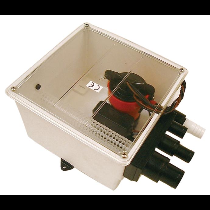 Multiple Port Shower Sump - 1000 GPH 1