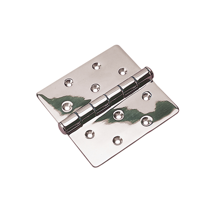 4 X 4.5IN 316 SS BUTT HINGE TOP PIN (2)