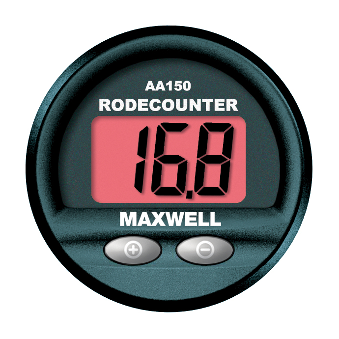 Maxwell AA150 Panel Mount Rode Counter 1