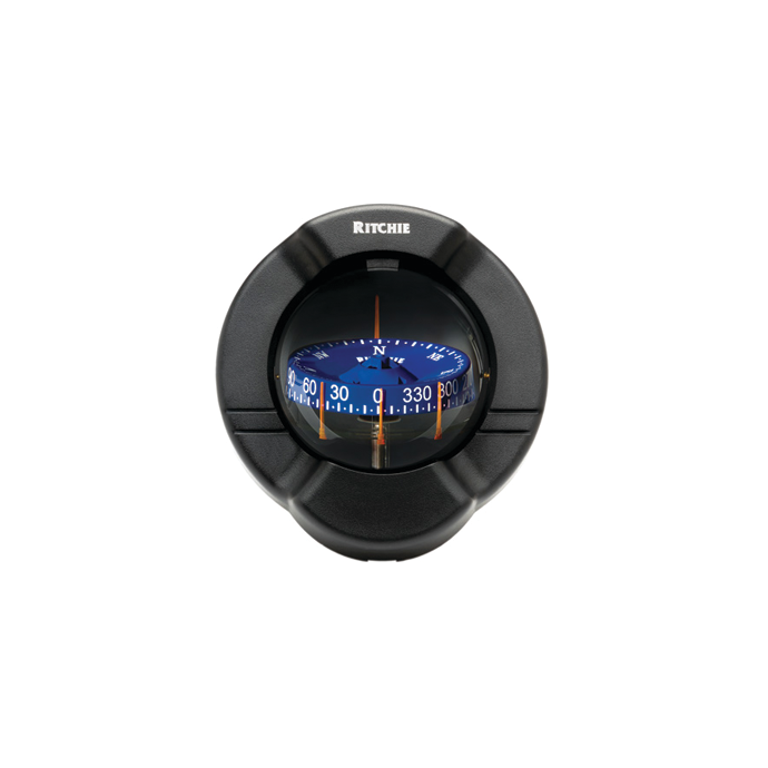 """SuperSport Compass - 3-3/4"""" CombiDial, Bulkhead Mount 1"""