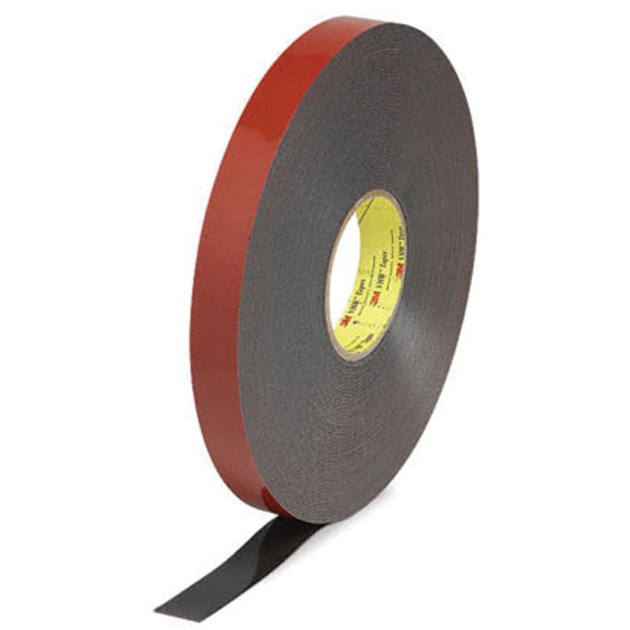 3/4IN BLK VHB HD MOUNTING TAPE (15YD)