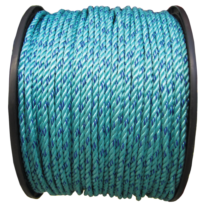 CWC Blue Steel 3-Strand Twisted Polypropylene 1