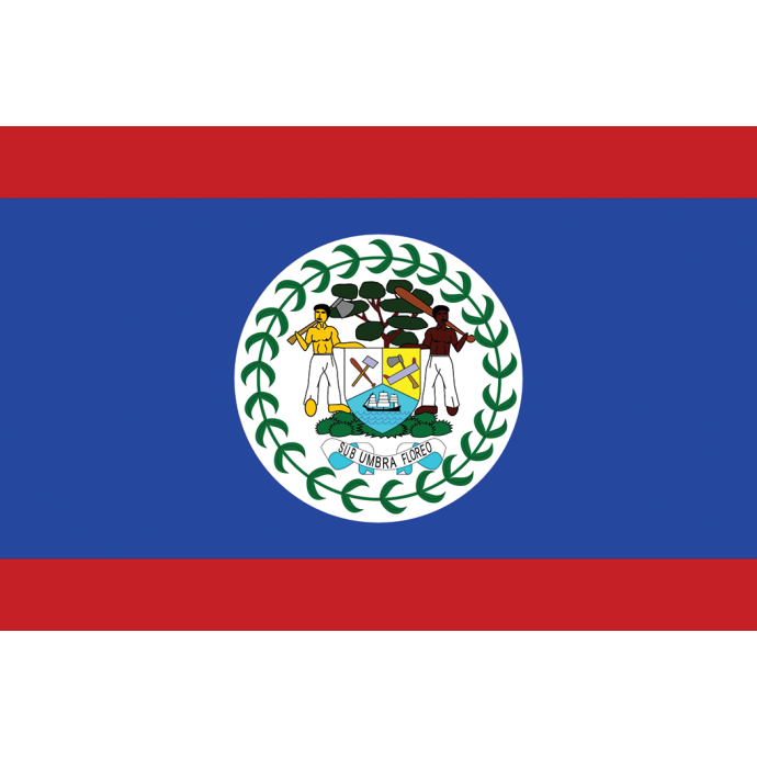 Belize Flag 1