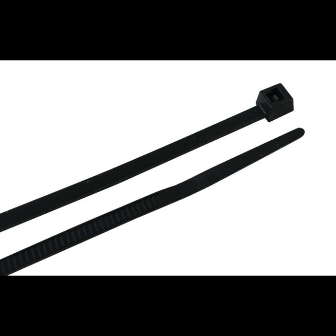 4IN NYLON CABLE TIE BLACK (100)