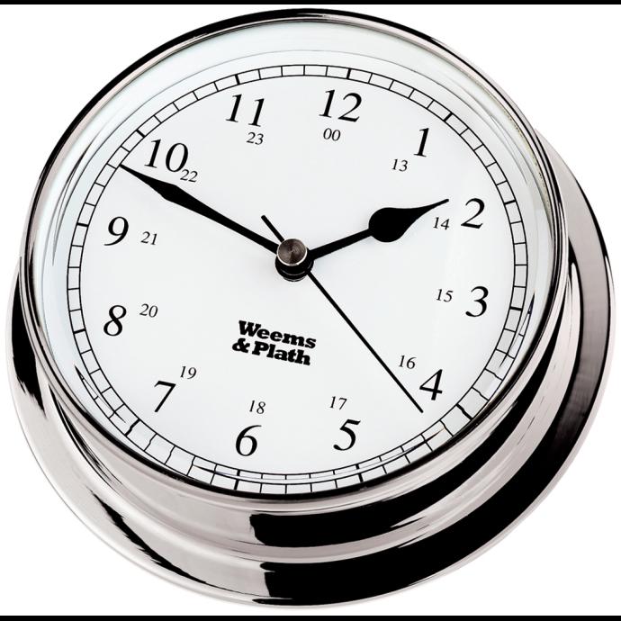 Endurance 125 Quartz Clock - Chrome 1