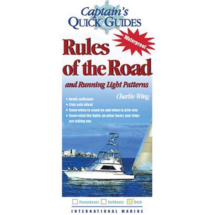 Captain's Quick Guides: Rules of the Road & Running Light Patterns