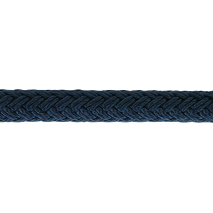 Solid Color Double Braid Nylon Anchor & Dock Line, Navy