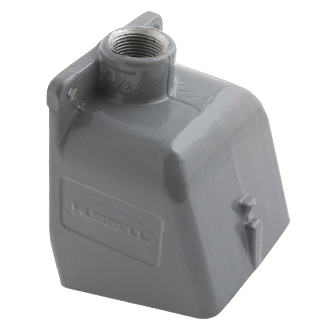 Aluminum Back Box Enclosure for 100A Shore Power Receptacles or Inlets 1