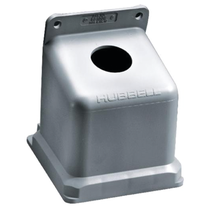 Non-Metallic Back Box Enclosure for 100A Shore Power Receptacles or Inlets 1