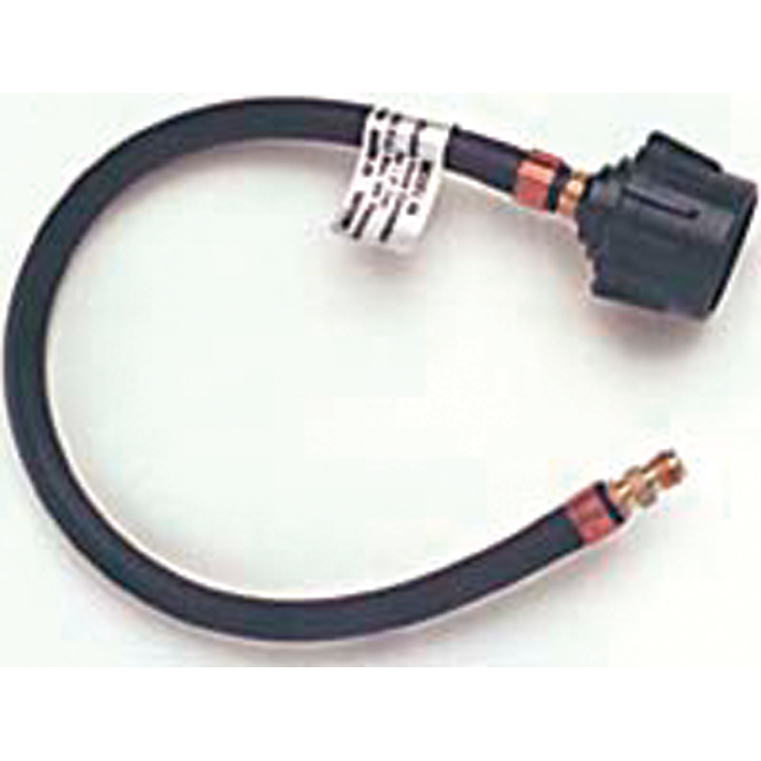 LPG Hose Assembly for Inverted Flare Inlet Regulators - with Hand Nut