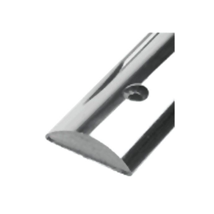 Solid Back Stainless Steel Rub Rail