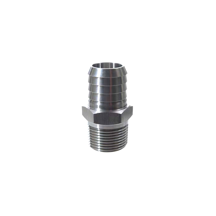 Pipe to Hose Adapter - Straight