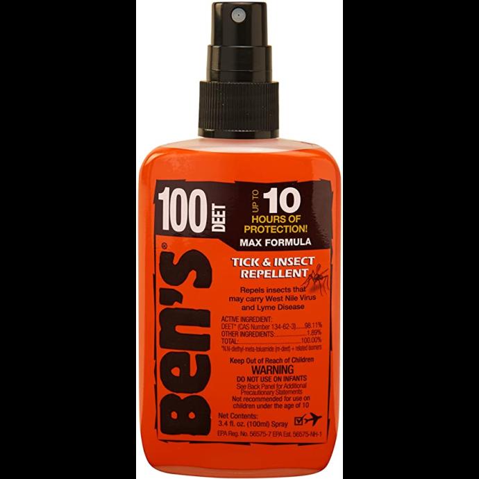 Ben's® 100% DEET Tick & Insect Repellent