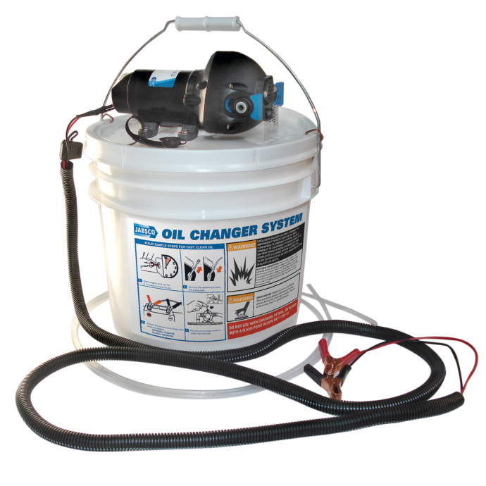 """""""Do It Yourself"""" Oil Changer with Bucket"""