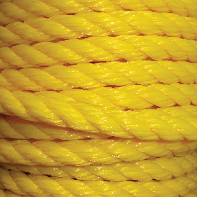 Yellow Polypropylene 3-Strand