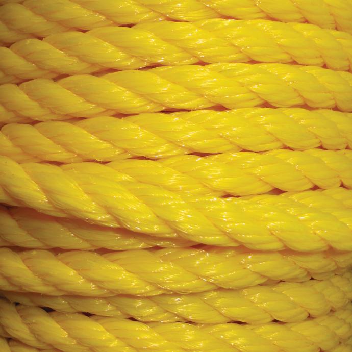 Yellow Polypropylene 3-Strand