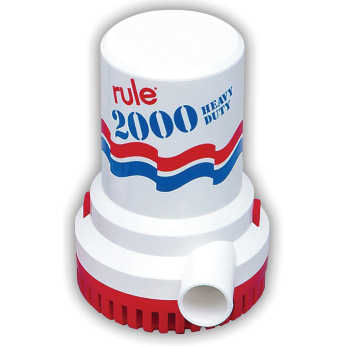 12V 2000GPH BILGE PUMP