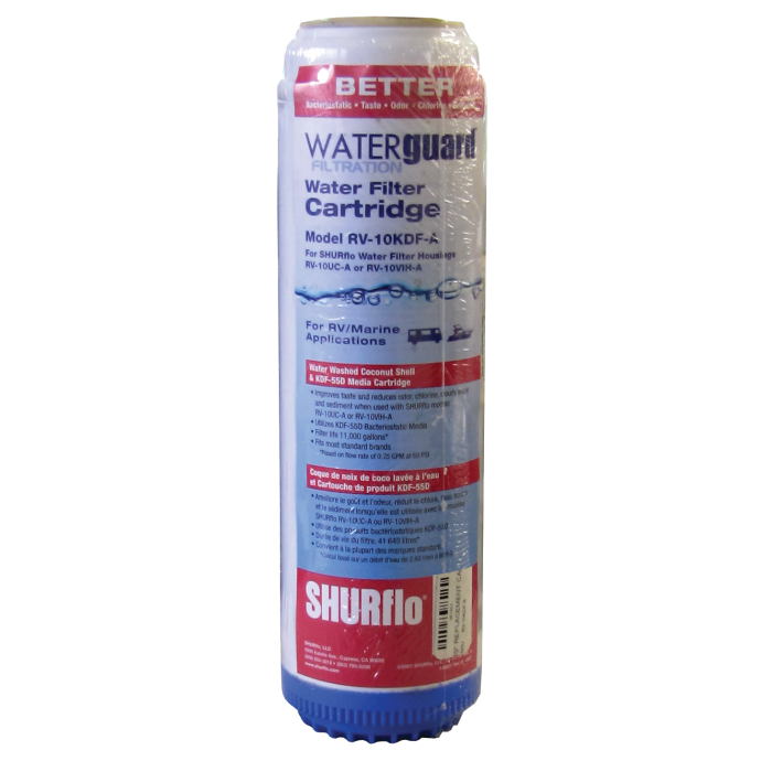 "WaterGuard™ - 10"" Water Filter Replacement Cartridges"
