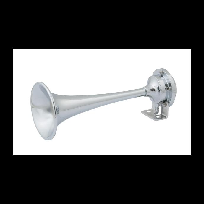 Single Mini Trumpet Air Horn & Compressor Kit