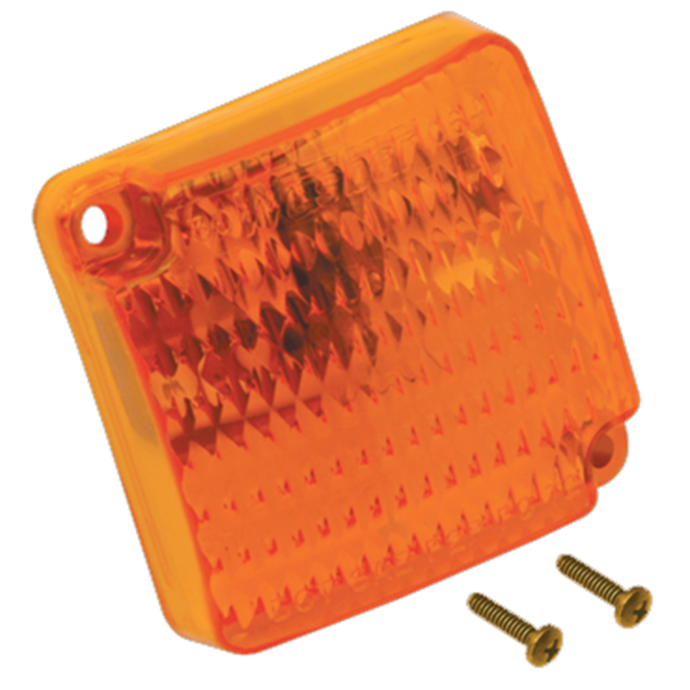 SQUARE AMBER CLEARANCE-REPLACEMENT
