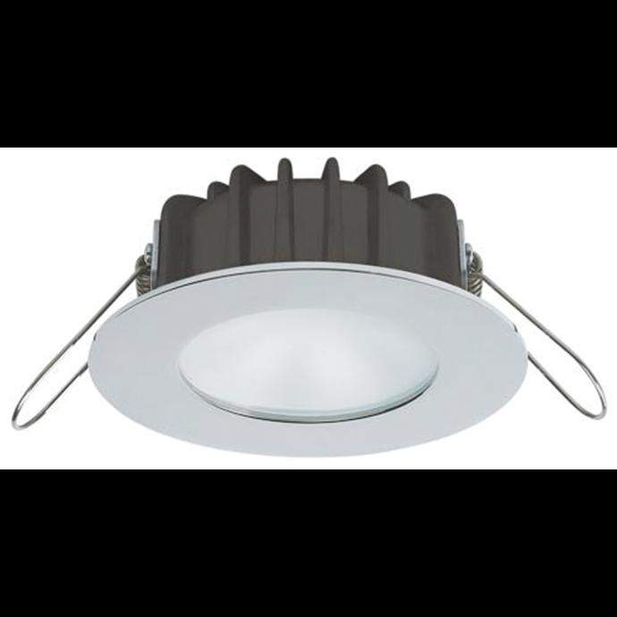"3-3/16"" Ventura PowerLED Recess Spot Light - Polished SS, Warm or Cool Beam 1"