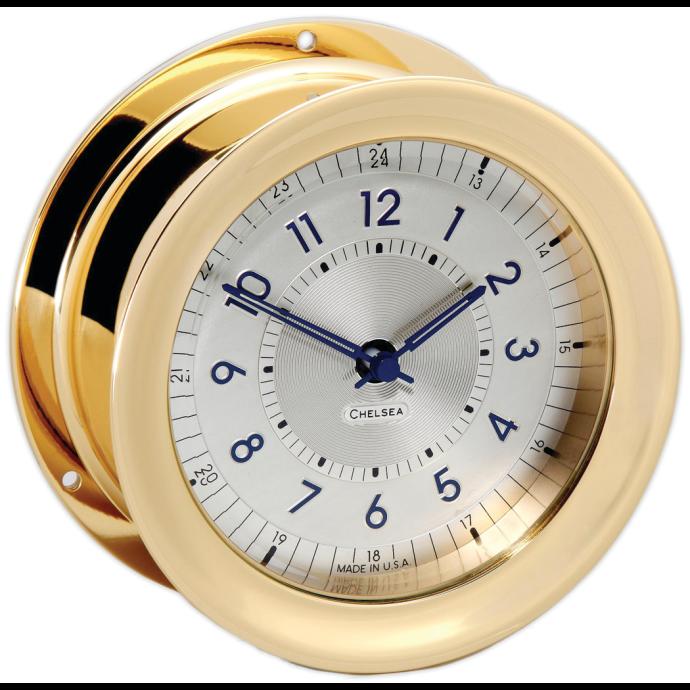 Polaris 12/24 Clock - Brass 1