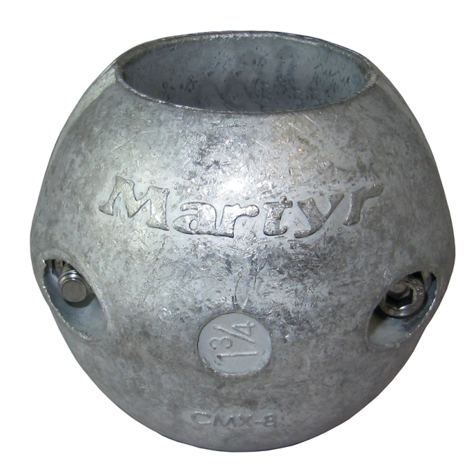 Streamlined Shaft Anodes - Aluminum