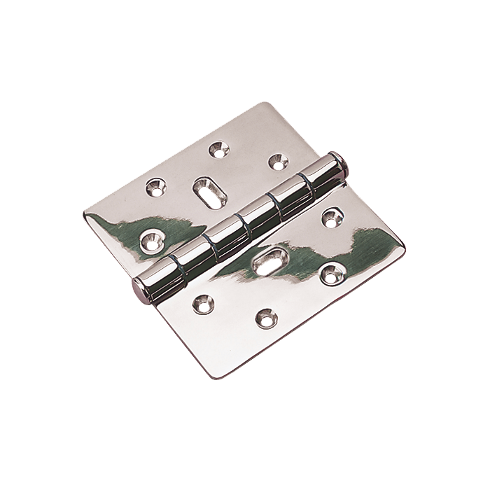 SS HD BUTT HINGE TOP PIN 4X4-1/2IN