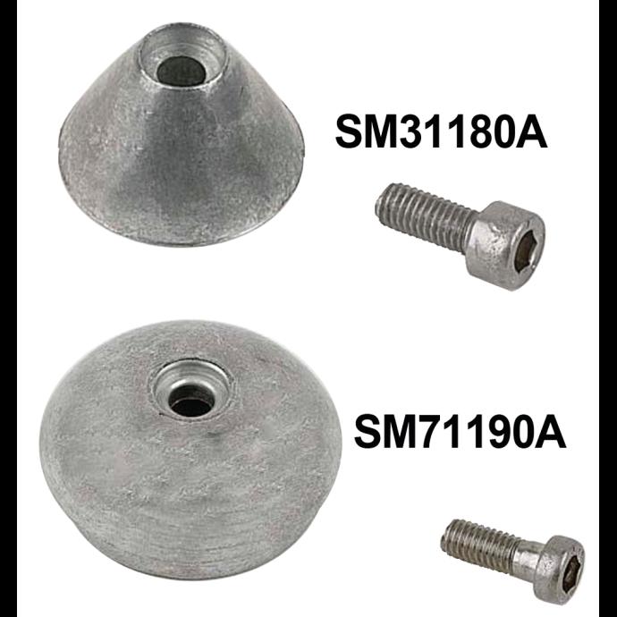 Bow Thruster Aluminum Anode 1