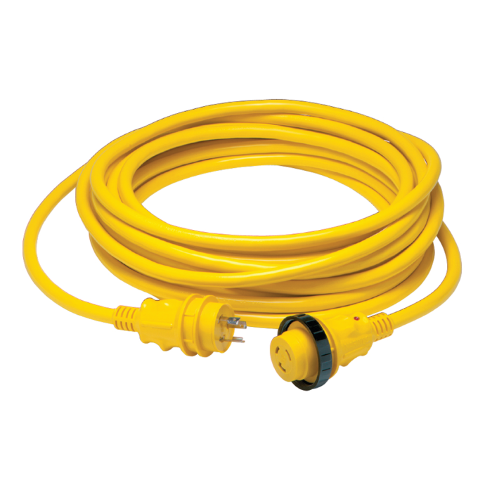 30 Amp 125V Power Cord Plus Cordsets - Yellow 1