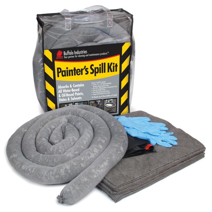 Painter's Quick-Response Universal Spill Kit - for Oil or Water-Based Fluids 1