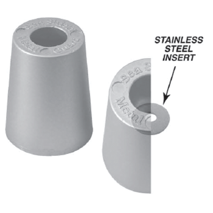 Beneteau Metric Replacement Prop Nut Anodes - Zinc 1
