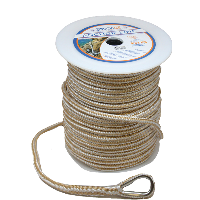 Pre-Cut Premium Anchor Lines - Double Braid Nylon 1